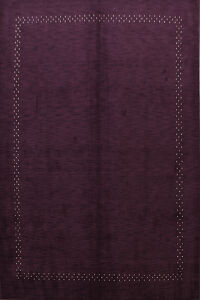 Purple Gabbeh Oriental Area Rug 10x12