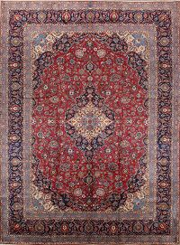 Vegetable Dye 10x13  Kashan-Dabir Persian Area Rug