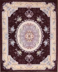 Soft Plush Floral 8x11 Isfahan Persian Area Rug