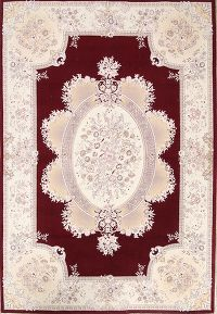 Soft Plush Floral 8x11 Tabriz Persian Area Rug