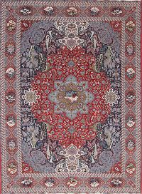 Soft Plush Floral 10x13 Sarouk Persian Area Rug