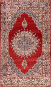 Geometric Red Mood Persian Area Rug