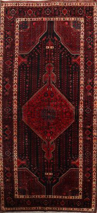 Geometric Tribal 5x11 Malayer Hamedan Persian Area Rug