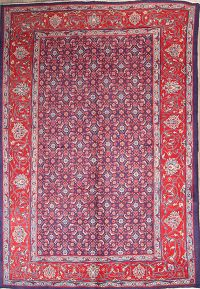 All-Over Geometric 7x10 Sarouk Persian Area Rug