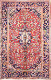 Floral 6x10 Kashan Persian Area Rug