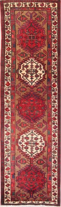 Geometric Tribal 3x11 Ardebil Persian Rug Runner
