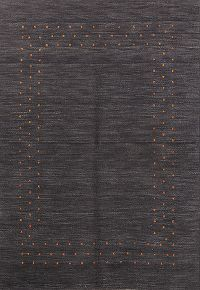 Abstract Gabbeh Oriental Area Rug 5x6