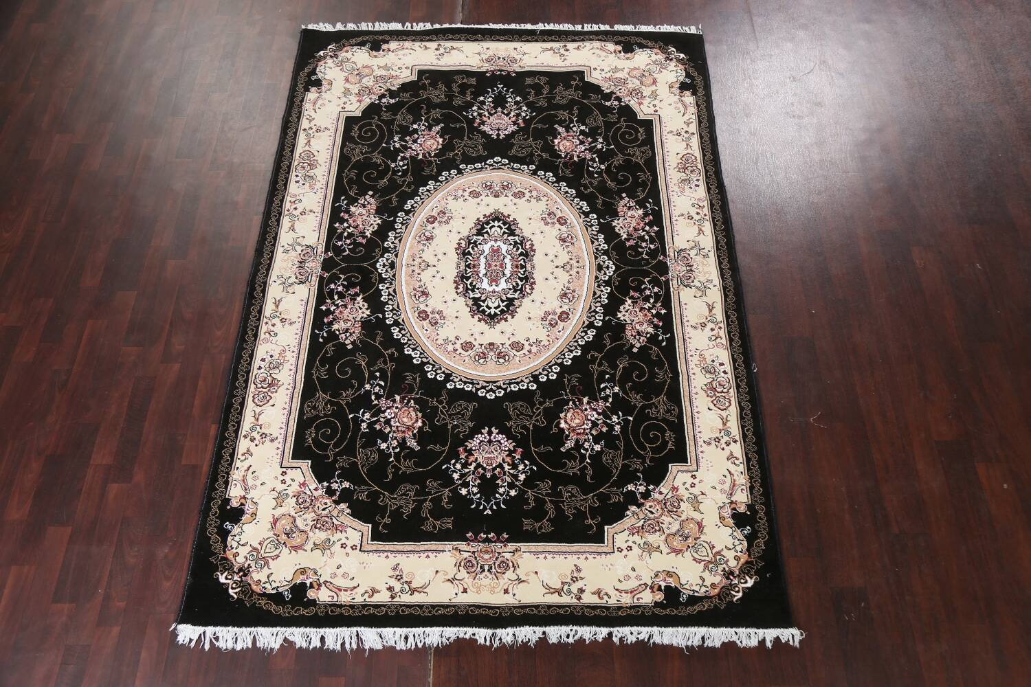 Soft Plush Floral 7x10 Isfahan Persian Area Rug image 2