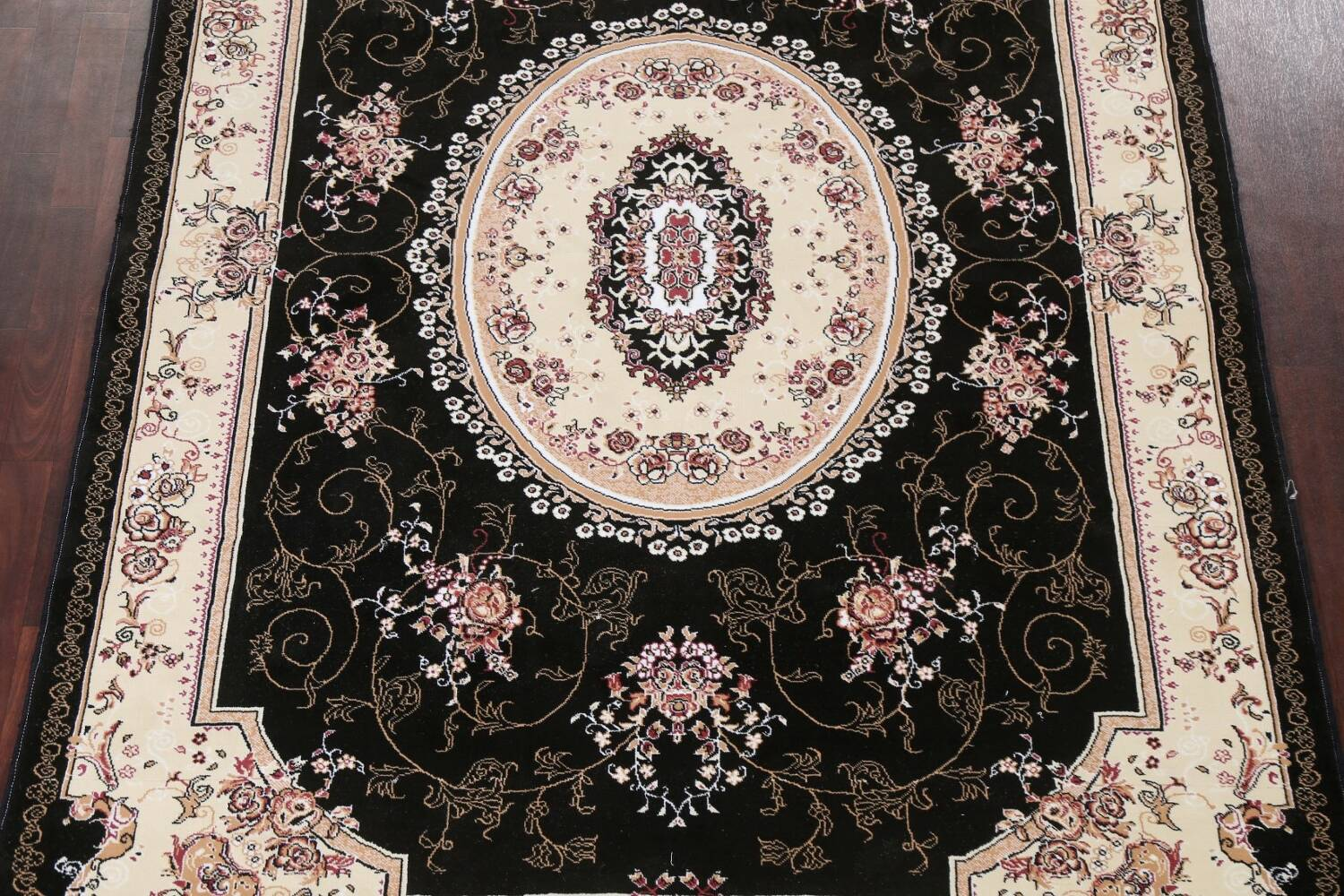 Soft Plush Floral 7x10 Isfahan Persian Area Rug image 3