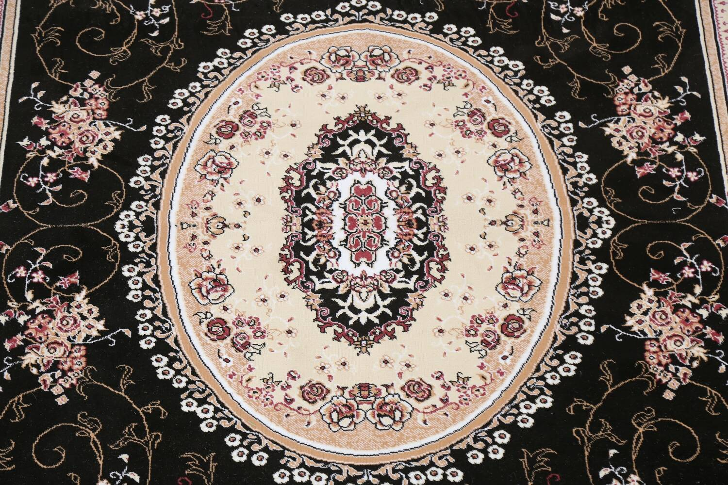 Soft Plush Floral 7x10 Isfahan Persian Area Rug image 4