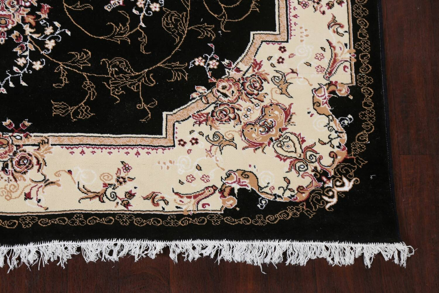 Soft Plush Floral 7x10 Isfahan Persian Area Rug image 6