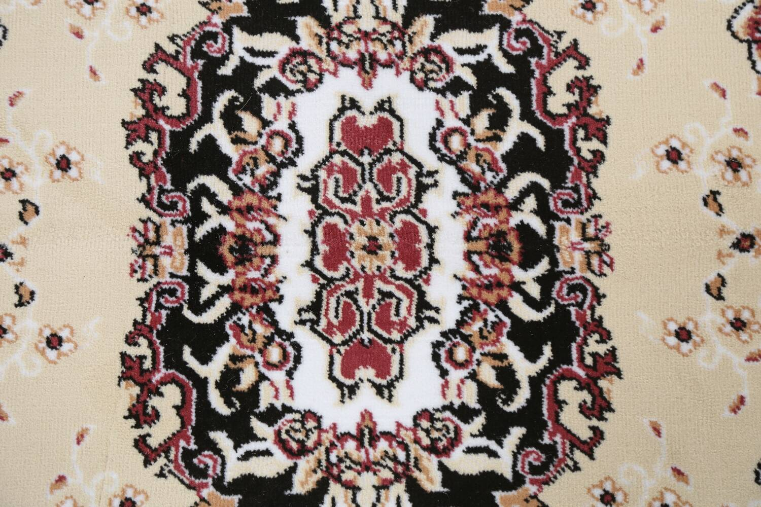 Soft Plush Floral 7x10 Isfahan Persian Area Rug image 8