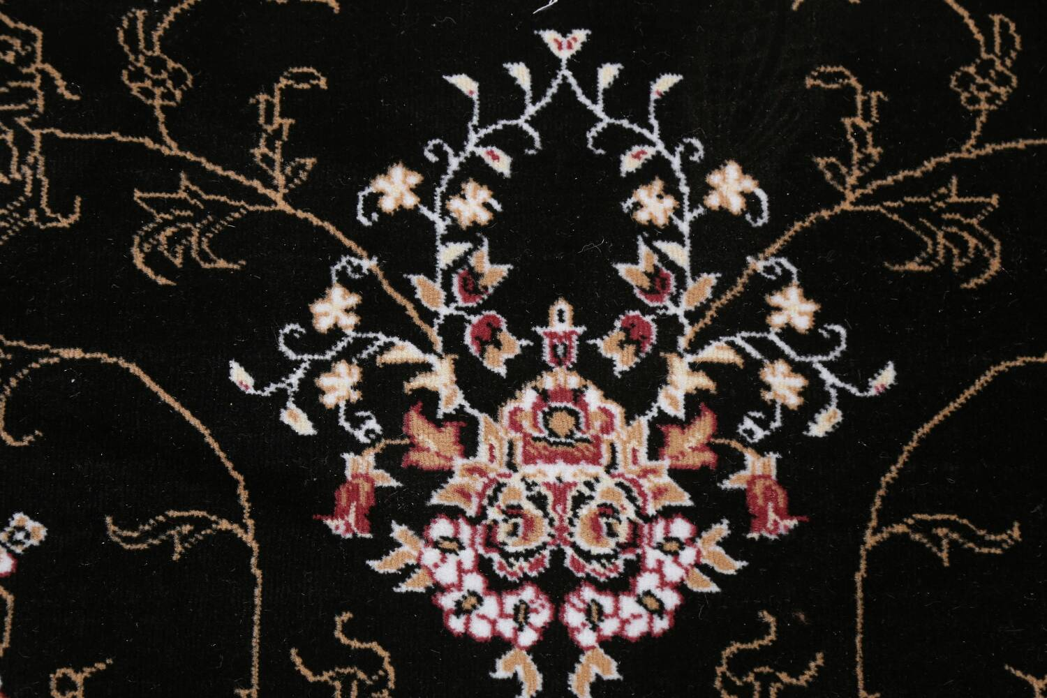 Soft Plush Floral 7x10 Isfahan Persian Area Rug image 9