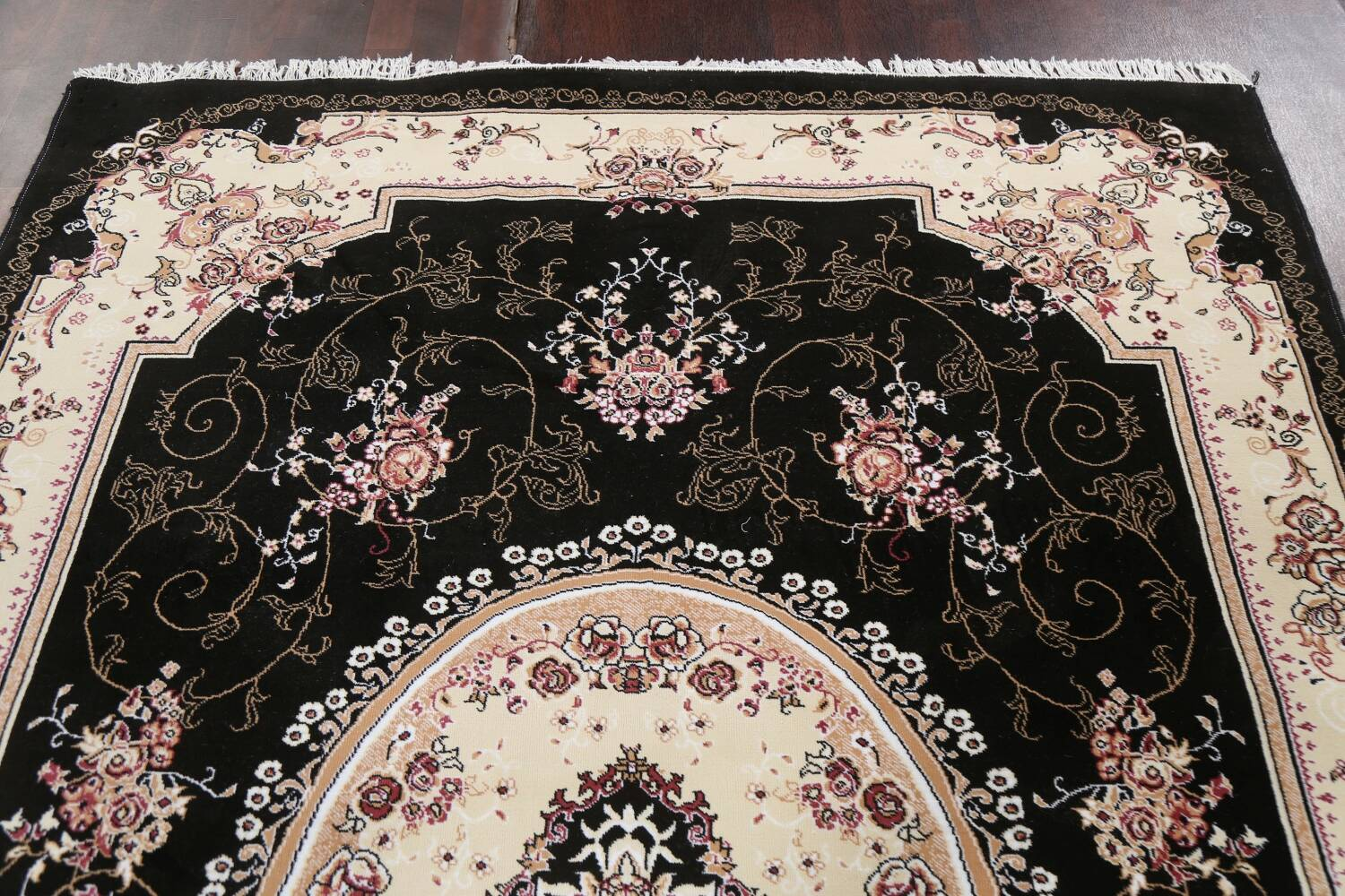 Soft Plush Floral 7x10 Isfahan Persian Area Rug image 12