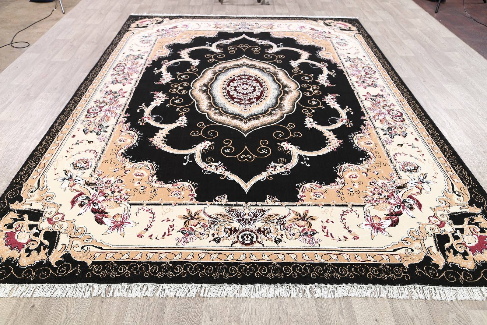 Soft Plush Floral 8x12 Isfahan Persian Area Rug