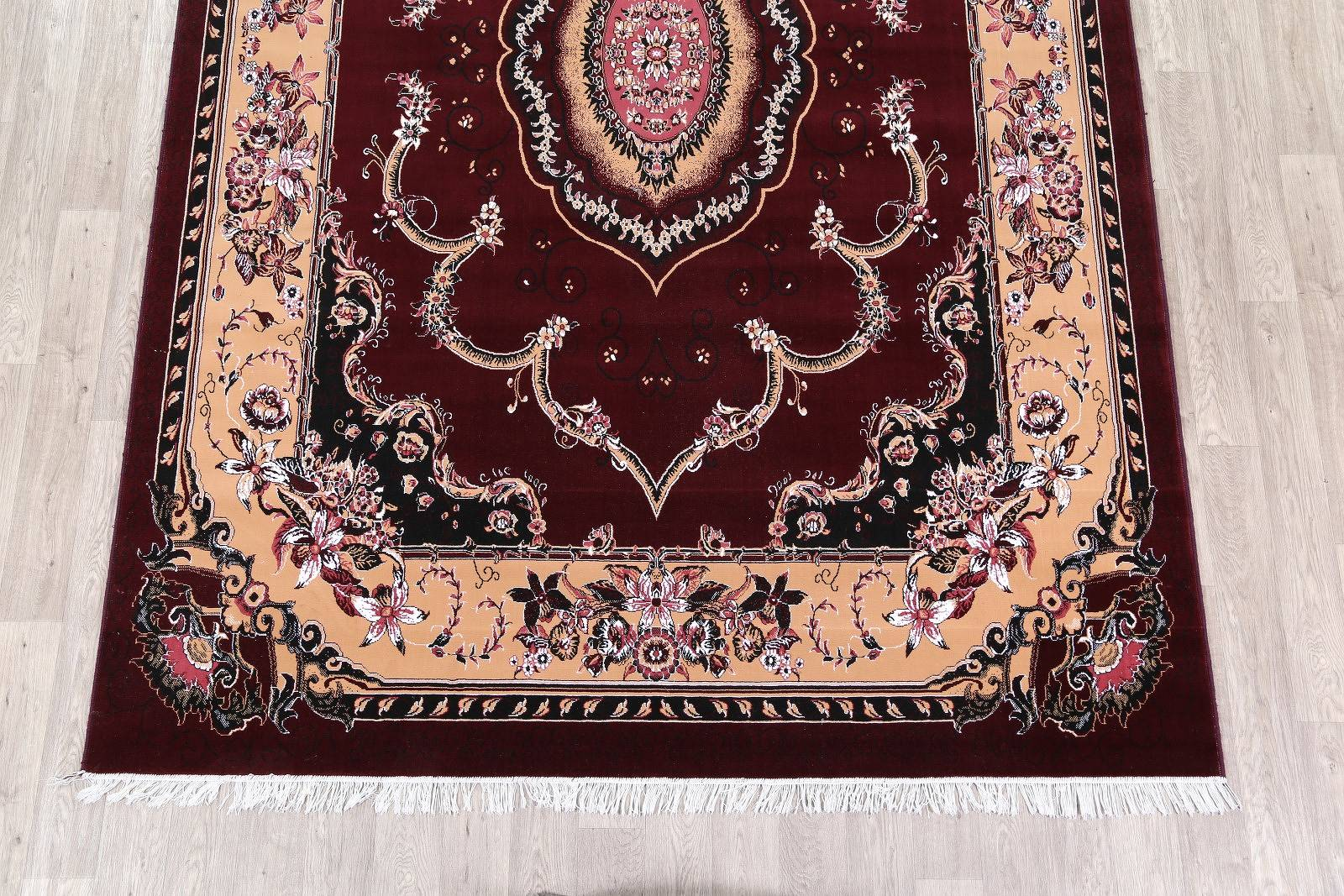 Soft Plush Floral 8x12 Tabriz Persian Area Rug