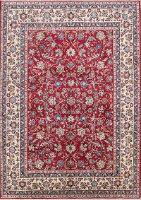 All-Over Floral 10x14 Isfahan Persian Area Rug