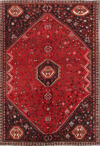 Geometric Tribal Nomad 7x10 Shiraz Persian Area Rug
