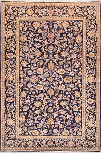 All-Over Floral 5x7 Kashan Persian Area Rug
