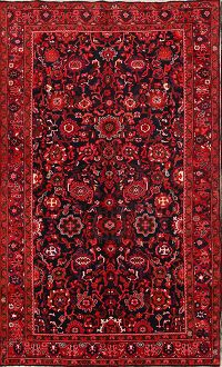 All-Over Floral 6x10 Nanaj Persian Area Rug