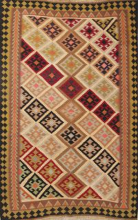 Tribal 4x6 Navajo Kilim Shiraz Persian Area Rug