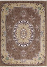 Soft Plush Floral Tabriz Persian Area Rug 8x11