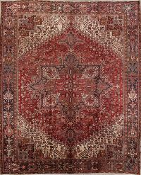 Geometric 10x12 Heriz Persian Area Rug