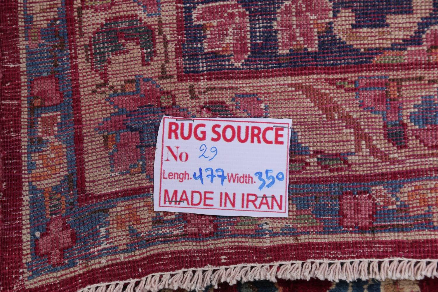 All-Over Floral 11x16 Yazd Persian Area Rug image 26