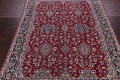 All-Over Floral 11x16 Yazd Persian Area Rug image 3
