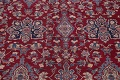 All-Over Floral 11x16 Yazd Persian Area Rug image 4