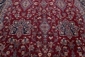 All-Over Floral 11x16 Yazd Persian Area Rug image 14