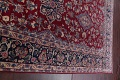 All-Over Floral 11x16 Yazd Persian Area Rug image 16