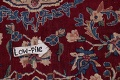 All-Over Floral 11x16 Yazd Persian Area Rug image 19
