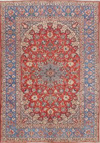 Floral 8x12 Isfahan Persian Area Rug