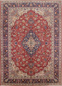 Floral Medallion 10x14 Isfahan Persian Area Rug