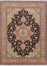Geometric 5x7 Tabriz Persian Area Rug