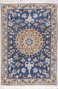 3x4 Nain Persian Area Rug