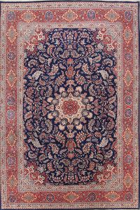 Vegetable Dye Floral 10x14 Sarouk Persian Area Rug