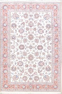 All-Over Floral 7x10 Tabriz Persian Area Rug