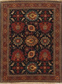 All-Over Floral 5x7 Senneh Bidjar Persian Area Rug