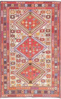 4x7 Kilim Shiraz Persian Area Rug