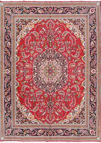 Soft Plush Traditional Floral 10x13 Isfahan Persian Area Rug