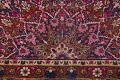All-Over Floral 11x16 Mashad Persian Area Rug image 10