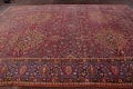 All-Over Floral 11x16 Mashad Persian Area Rug image 21