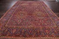 All-Over Floral 11x16 Mashad Persian Area Rug image 22