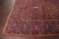 All-Over Floral 11x16 Mashad Persian Area Rug image 24