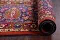 All-Over Floral 11x16 Mashad Persian Area Rug image 27