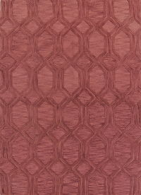 Moroccan Trellis Indian Oriental Hand-Tufted 8x11 Wool Area Rug