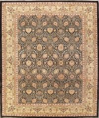 All-Over Floral 10x14 Oushak Peshawar Pakistan Oriental Area Rug