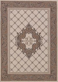 Outdoor/Indoor Traditional Belgium Oriental Area Rug